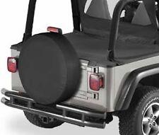 "Jeep Wrangler Liberty Spare tire cover BLACK 15 16"" rim fits 29"" diameter  tire"
