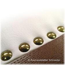 100 Stk Ziernägel Ø9,5mm 100 1/3 altgold gefleckt Polsternägel
