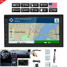 7'' Car Stereo Bluetooth Radio 2 Din CD DVD Player MirrorLink For GPS Navigation