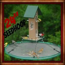 """Songbird Essentials SEED HOOP SEEDHOOP 24"""" SEED CATCHER PLATFORM BIRD FEEDER NEW"""
