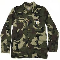 Carhartt Digger Camo Jacket Coat WIP Mens size - S Free Shipping
