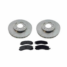Front Brake Discs/Pads for Mitsubishi FTO GPX & GPVR DE3A 2.0 MIVEC Models