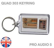 Quad 303 Vintage Hi-Fi Amplifier Amp - Keyring - Keychain - UK FAST POST