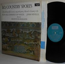 LO COUNTRY SPORTS-COUNTRY LIFE BURGESS ARGO UK LP ZRG 658 Ex / M- in Shrinkwrap