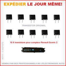 10 x TRANSISTOR F3710S IRF3710S ORIGINAL pour réparation compteur Scenic 2