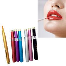 Portable Retractable Cosmetic Lip Brush Lipstick Gloss Lip Brush Makeup Tool
