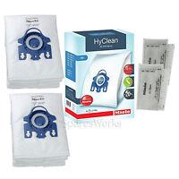 8 x MIELE GN Dust Bag Genuine Original Hyclean Bags Motor Filter Pack