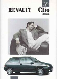 Catalogue RENAULT Clio Baccara 05/1991 Belgique en flamand / vlaams