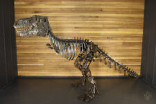 More details for extra large hand crafted dinosaur from automotive parts - willmow