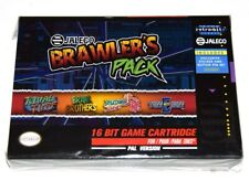Retro-bit Europe Jaleco Brawler's pack PAL version SNES Cartridge for Super NES