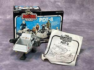 VTG Original 1981 Star Wars ESB PDT-8 Personnel Deployment Transport Kenner Box