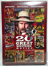 20 Great Western Movies (DVD Set, 2012) 30 hours, 1934-1972, BRAND NEW SEALED!