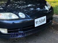 Venom Automotive Soarer (Z30 Series) Billet OEM Style Front Number Plate Mount
