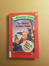 The Bobbsey Twins The Mystery at Snow Lodge by Laura Lee Hope 1990 Hardcover VGC