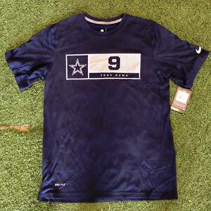 Tony Romo #9 Dallas Cowboys Nike Dri-Fit Shirt XL XLarge Official NFL NWT