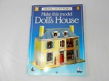 Usborne Make This model Doll's House Victorian Iain Ashman Cut Out Paper Model