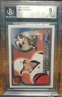 Tom Brady 2000 Aurora Rookie rc #84 BGS 9 Mint invest now goat price will go up