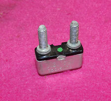 1960-1970 Ford Mercury Lincoln Nos Tung-Sol 15 Amp Circuit Breaker Green