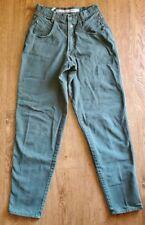Zena Vintage Mom Green Jeans Womens Size 7/8 Waist 26