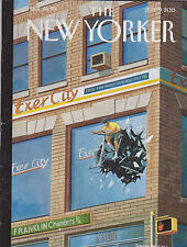 SEPT 9 2013 NEW YORKER vintage magazine - EXERCISE BIKING OUT OF WINDOW
