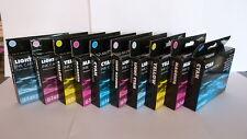 10 COLOUR  RX500 RX600 RX620 RX640 EPSON COMPATIBLE INK CARTRIDGES