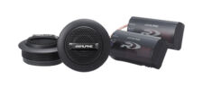 "Alpine SPR-10TW Car Audio Type R Series 1"" Silk Dome Tweeter Speakers Pair New"