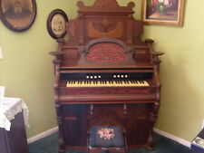 Very Vintage Beautifully Designed #ed Pump Organ