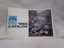 vntg 1969 PORTA POTTI camping RV toilet john CATALOG Thetford Corp Ann Arbor MI