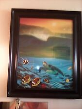 WYLAND OIL PAINTING COLLECTOR'S PRINT 1996- AUTOGRAPHED ON 9/2/2012 (NO FRAME)