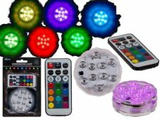 Underwater Light 10 Colour Remote Control LED Light Pool Waterproof