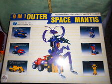 9 IN 1 OUTER SPACE MANTIS ROBOT MADE IN TAIWAN VINTAGE TOYS RARE BRAND NEW
