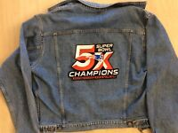 NEW ENGLAND PATRIOTS PATCH SUPER BOWL 5X CHAMPIONS !! XLARGE STYLE SUPERBOWL 51