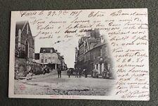 CPA. BRÉCEY. 50 - Route de Mortain. 1905.