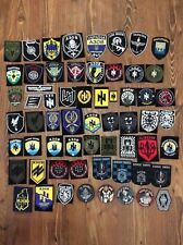 "60 PATCHES POLICE UKRAINE "" AZOV Nationalist Battalion ORIGINAL MEGA COLLECTION"