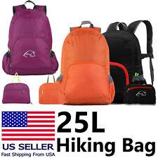 25L Hiking Bag Camping Rucksack Waterproof Travel Men Women Sports Backpack US