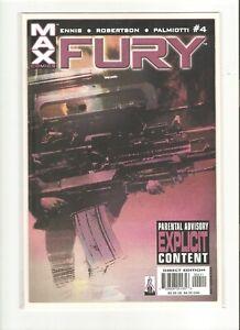 FURY (2001) FEB 2002 #4 MARVEL COMIC BOOK 9.4 NM
