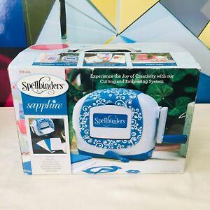 NIB Spellbinders Sapphire COMPLETE Set - Machine Manual Sandwich Plates Die Cut