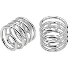 Chrome Solo Seat Springs for Bobber Motorcycle 2 Inch