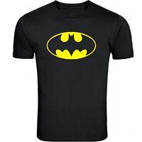 Batman, Classic Logo, T-Shirt, Cotton Blend( Adult's & Kids Size: S,M,L, XL)