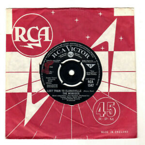 """THE MONKEES - LAST TRAIN TO CLARKSVILLE.UK ORIG 1966 7"""" & CO/SL.VG-"""