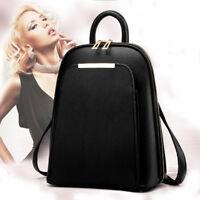 Women Fashion Leather Travel Lady Satchel Shoulder Bag Backpack School Rucksack