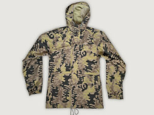 Vintage 90s BURTON RONIN Snowboard Jacket Size M Camouflage Camo OuterShell
