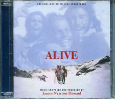 James Newton Howard ALIVE 2-CD Limited Edition EXPANDED SOUNDTRACK Score SEALED