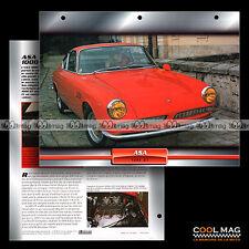 #028.01 ★ ASA 1000 GT 1964 ★ Fiche Auto Car card