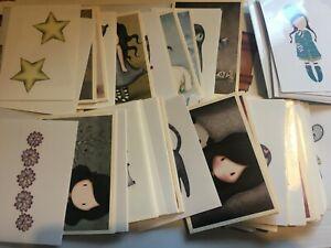 30x Santoro Gorjuss 1 Stickers PANINI Girls Cute Reward Praise Scrapbooking