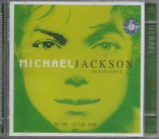 MICHAEL JACKSON - Invincible - CD - Universal - ACD-805 - 2001 - Rare - China