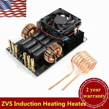 1000W DC 12-40V ZVS Induction Heating Heater + Coil USA STOCK