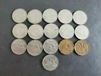 Canada 1922 to 1946 5 Cents George Canadian Nickels 16 coins - Great Starter#5