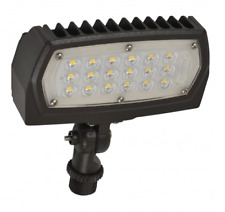 Nuvo LED Flood Light 12 Watt 3000K 1475 Lumens Adjustable Neck