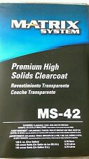 Matrix System MS-42 Premium High Solids Clearcoat 1 Gal